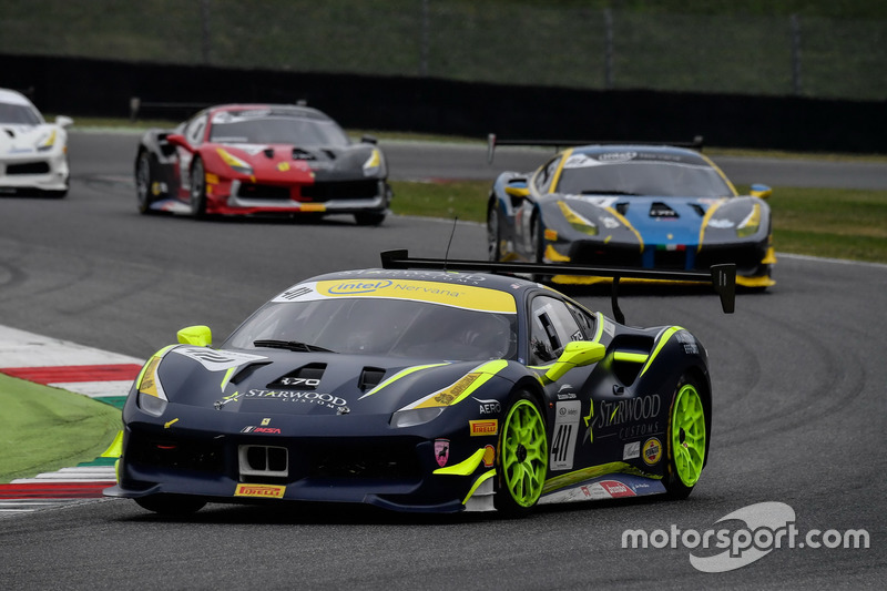 #411 Scuderia Corsa - Ferrari Beverly Hills Ferrari 488: Karl Williams