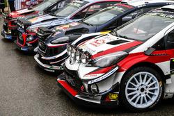 Photo de groupe des WRC 2018
