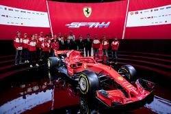 Sebastian Vettel, Ferrari, Kimi Raikkonen, Ferrari with fans