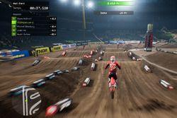 Screenshot del Monster Energy Supercross