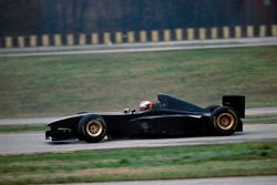 Michael Schumacher, tests the new Ferrari F300 for the first time