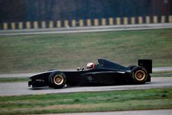 Michael Schumacher, por primera vez en las pruebas del nuevo Ferrari F300