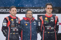 Winnaars Thierry Neuville, Nicolas Gilsoul, Hyundai i20 WRC, Hyundai Motorsport, Michel Nandan