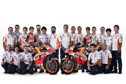Dani Pedrosa ve Marc Marquez, Repsol Honda Team takım ile