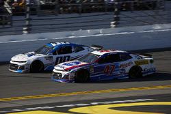 Jeffrey Earnhardt, StarCom Racing Chevrolet Camaro and A.J. Allmendinger, JTG Daugherty Racing Chevr