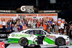 Yarış galibi Tyler Reddick, JR Motorsports, BurgerFi Chevrolet Camaro