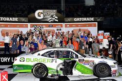 Tyler Reddick, JR Motorsports, BurgerFi Chevrolet Camaro wins