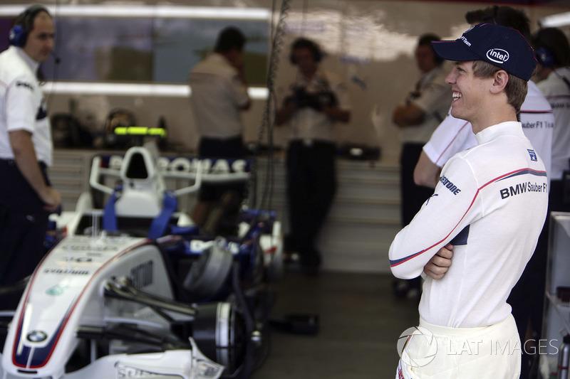 2007 год. Себастьян Феттель. 1 гонка в BMW Sauber