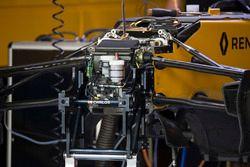 Передняя подвеска и шасси Renault Sport F1 Team RS17
