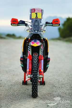 Bike of Sam Sunderland, Red Bull KTM Factory Team