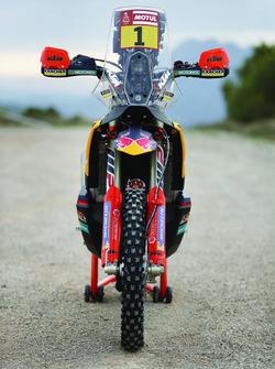 La moto de Sam Sunderland, Red Bull KTM Factory Team