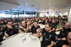 Team members Mercedes AMG F1