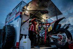 Monster Energy Honda Team preparations