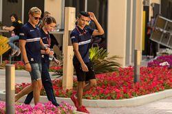 Marcus Ericsson, Sauber en Pascal Wehrlein, Sauber