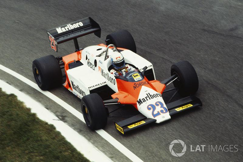 Mauro Baldi, Alfa Romeo 183T (1983)