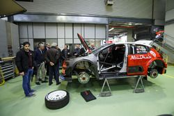Car of Sébastien Loeb , Daniel Elena, Citroën World Rally Team Citroën C3 WRC