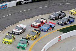 Ben Rhodes, ThorSport Racing, Ford F-150 Matt Crafton, ThorSport Racing, Ford F-150 Ideal Door/Menar