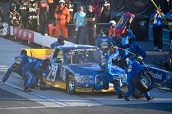 Chase Briscoe, Brad Keselowski Racing Ford makes a pit stop, Sunoco