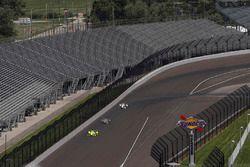 Simon Pagenaud, Team Penske Chevrolet Will Power, Team Penske Chevrolet Helio Castroneves, Team Pens