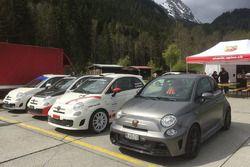 Abarth Trofeo Slalom, Saanen, paddock