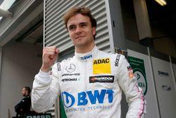 Le poleman Lucas Auer, Mercedes-AMG Team HWA, Mercedes-AMG C63 DTM