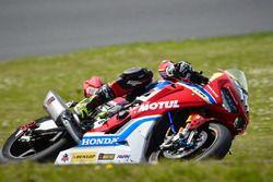 #111 Honda Endurance Racing, Honda CB R1000 RR: Julien Da Costa, SÈbastien Gimbert, Freddy Foray