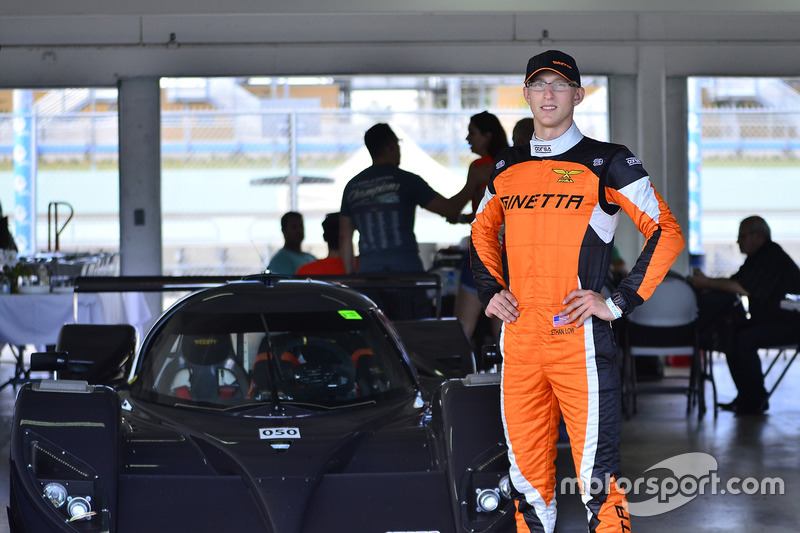 #50 FP1 Aquila LS7 driven by Ethan Low of Ginetta USA