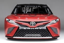 The 2017 NASCAR Toyota Camry based on the 2018 road car