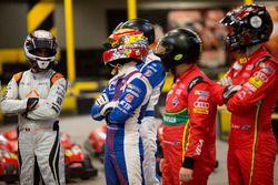Jérôme d'Ambrosio, Dragon Racing; Aleksi Uusi-Jaakola y su compañero de equipo Robin Frijns, Amlin A