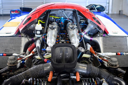 Calsonic Nissan R92CP Group C, detalle del motor