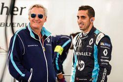 Jean Paul Driot with Sébastien Buemi, Renault e.Dams