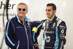 Jean Paul Driot with Sébastien Buemi, Renault e.Dams