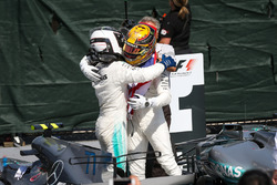 2. Valtteri Bottas, Mercedes AMG F1, Yarış galibi Lewis Hamilton, Mercedes AMG F1