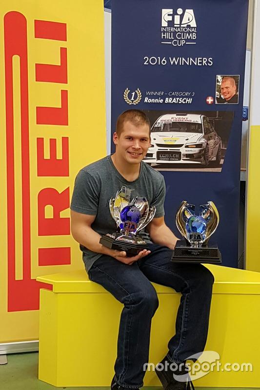 Ronnie Bratschi, Mitsubishi Evo VIII RS, Bratschi Racing, Sieger FIA Hill Climb Cup
