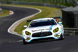 №1 Black Falcon, Mercedes-AMG GT3: Маро Энгель, Адам Христодулу, Йелмен Бурман, Мануэль Мецгер, Тоби