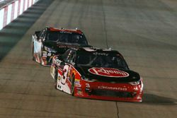Ty Dillon, Richard Childress Racing Chevrolet and Christopher Bell, Joe Gibbs Racing Toyota
