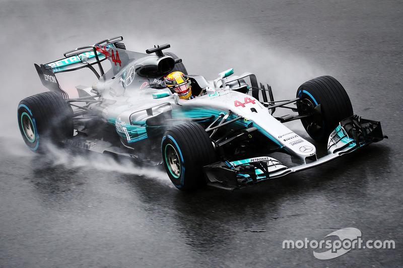 6. Italien 2017, Lewis Hamilton vor Max Verstappen - 1,148 Sekunden