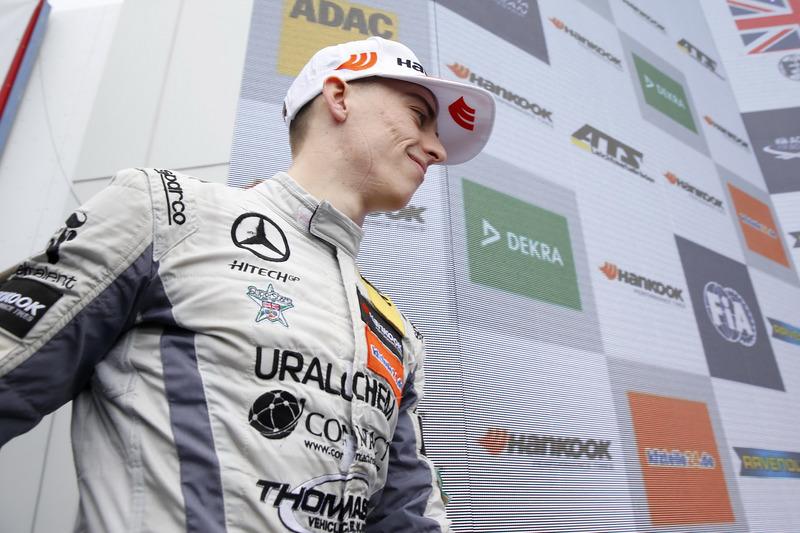 Podio: Jake Hughes, Hitech Grand Prix, Dallara F317 - Mercedes-Benz
