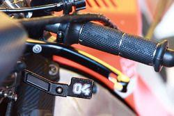Andrea Dovizioso, Ducati Team, leva del freno posteriore
