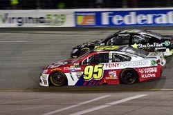 Michael McDowell, Leavine Family Racing Chevrolet, Derrike Cope, Premium Motorsports Toyota
