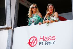 Guests of the Haas F1 Team team
