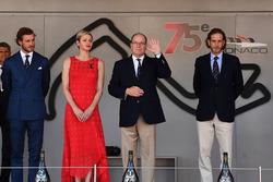 Pierre Casiraghi, Princessa Charlene di Monaco, Charlene Wittstock, HSH Principe Alberto di Monaco, e Andre Casiraghi