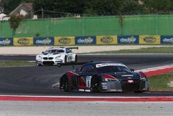 Audi R8 LMS-S.GT3 #8: Treluyer-Ghirelli, Audi Sport Italia