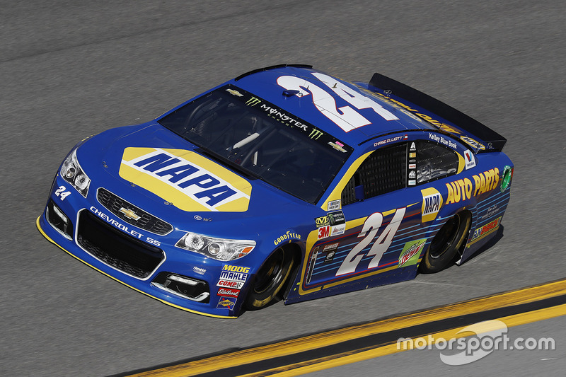 #24: Chase Elliott, Hendrick Motorsports, Chevrolet