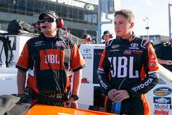 Christopher Bell, Kyle Busch Motorsports Toyota and Ryan Fugle, Kyle Busch Motorsports