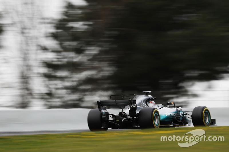 Mardi : Lewis Hamilton, Mercedes