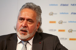 Dr. Vijay Mallya, propriétaire du Sahara Force India F1 Team