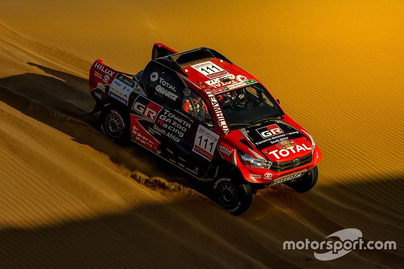 Giniel de Villiers, Toyota Overdrive