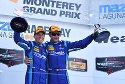 Ganadores Renger van der Zande, Marc Goossens, Visit Florida Racing