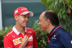 Себастьян Феттель, Ferrari, керівник Sauber Фредерік Вассьор